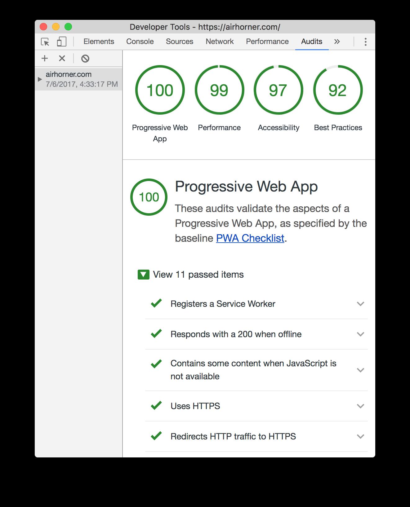 《Chrome60 DevTools新特性》
